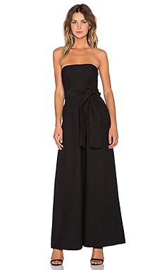 C/MEO Wake Me Jumpsuit in Black