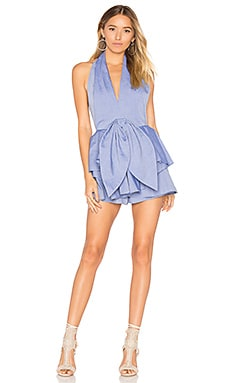 Conquer Romper in Blue