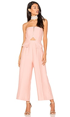 No Limit Jumpsuit in Rosewood