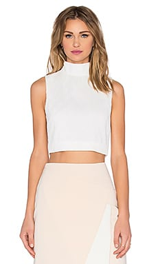 Stay Close Top in Ivory