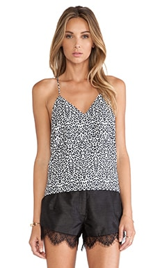 C/MEO Broken Strings Tank in Snow Leopard