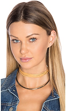 Cobra Bite Choker in Silver