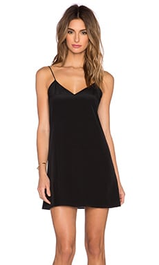 CAMI NYC The Backlace Dress in Black