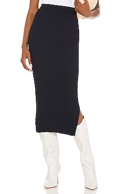 Leah Rib Skirt CAMI NYC $198