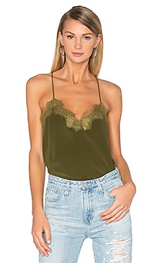The Racer Cami in Army Green