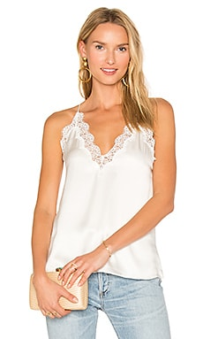 The Everly Cami in White