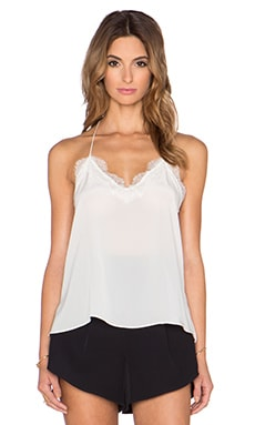 CAMI NYC The Racer Cami in White