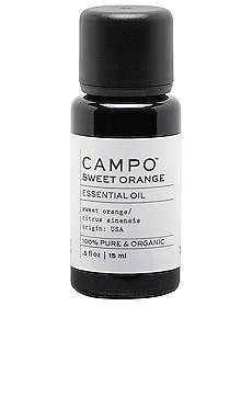 Sweet Orange Organic 100% Pure Essential Oil CAMPO $23