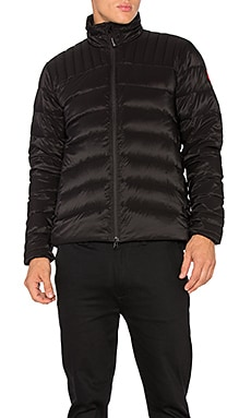Canada Goose Brookvale Jacket in Black & Graphite