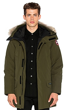 Langford Coyote Fur Trim Parka