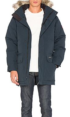 Emroy Coyote Fur Trim Parka