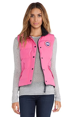 Freestyle Vest in Summit Pink