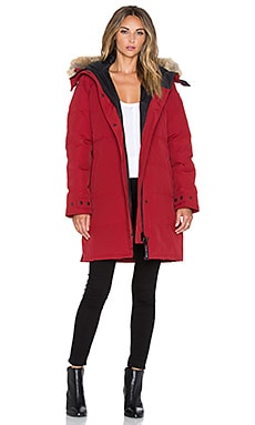 Canada Goose Shelburne Parka in Redwood