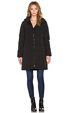 Canada Goose Heatherton Parka in Black