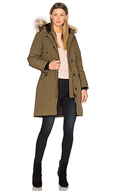 Kensington Parka in Military Green