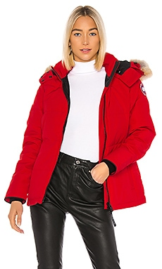 Chelsea Parka with Removable Fur Ruff Canada Goose $895