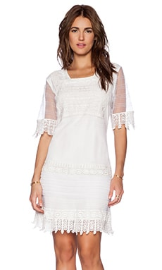 Candela Bastiana Dress in Off White