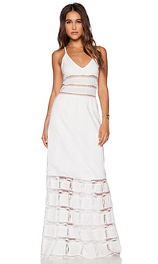 Candela Elsa Dress in White