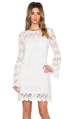 Candela Baca Dress in White