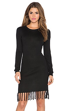 Candela Canton Dress in Black