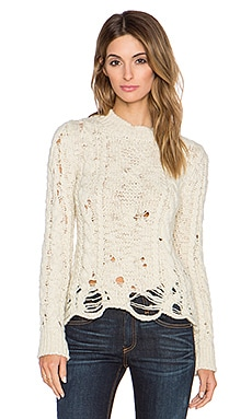 Candela Owens Sweater in Off White