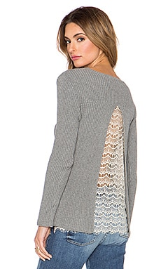 Candela Henry Sweater in Grey