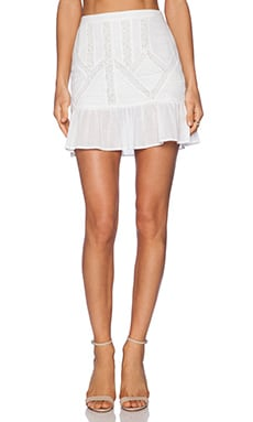 Candela Aralyn Skirt in White