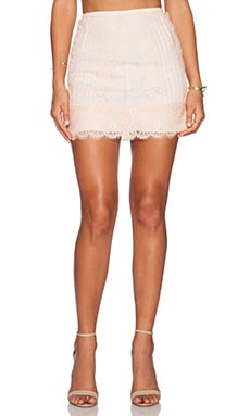 Candela Khan Skirt in Blush