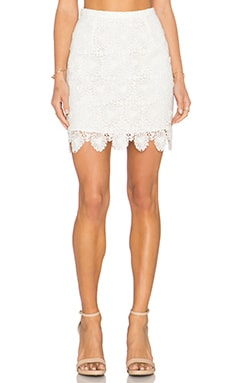 Candela Clanton Skirt in White