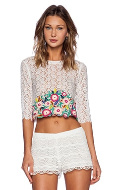 Candela Callie Top in White