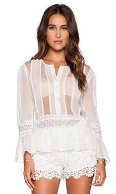 Candela Aurora Top in White
