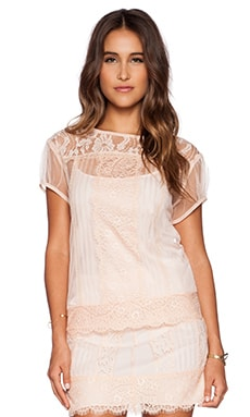 Candela Mulan Top in Blush