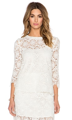 Candela Bozeman Top in White