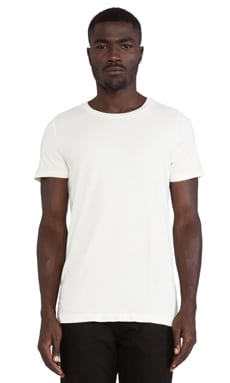 Cast of Vices Basic Tee in White