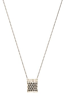 Cast of Vices Fast Friends Necklace in Silver
