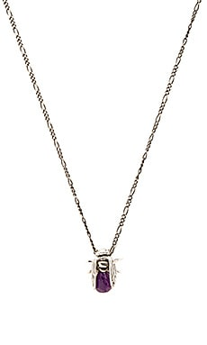 Cast of Vices Ups And Downs Necklace in Light Amethyst