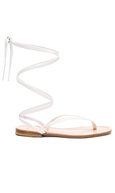 Amalfi Sandal in White