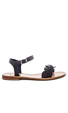 Nerano Sandal en Noir