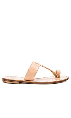 Positano Sandal in Tan Light