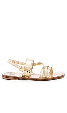 Roman Sandal in Gold