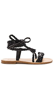 Capri Positano Faito Sandal in Black