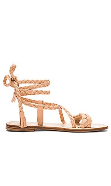 Capri Positano Faito Sandal in Tan Light