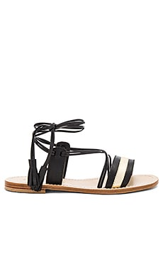 Poseidon Sandal in Black