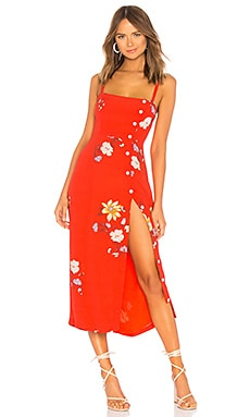 Janette Midi Dress Capulet $158 BEST SELLER