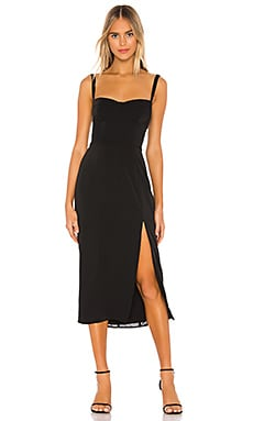 Ariella Bustier Midi Dress Capulet $178