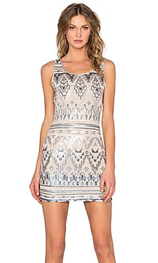 Capulet Bodycon Dress in Empire Sequin