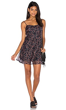 Sia Scoop Back Dress in Petite Petals Print