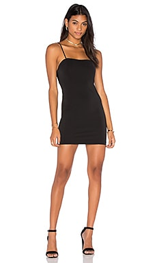 Capulet Amber Bodycon Dress in Black
