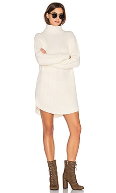 Neve Sweater Dress in Cream