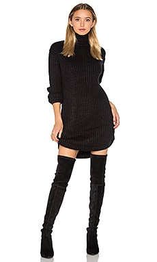 Neve Sweater Dress in Black